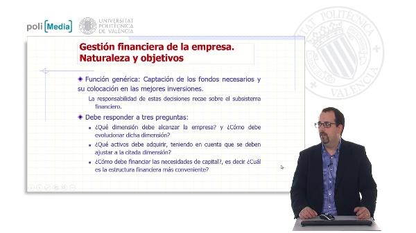 Gestión financiera de la empresa. Fuentes de financiación. Financiación interna y externa. Financiación a corto y largo plazo