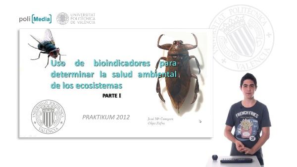 Uso de bioindicadores para determinar la salud ambiental de los ecosistemas. Parte I