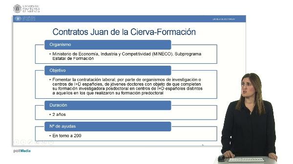 Ayudas postdoctorales Juan de la Cierva