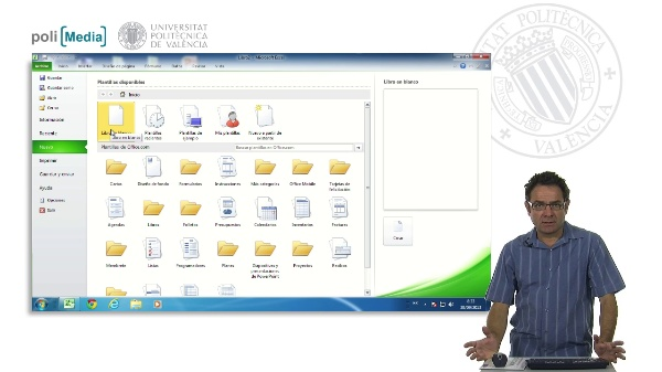 Crear un archivo de Excel nuevo a partir de una plantilla