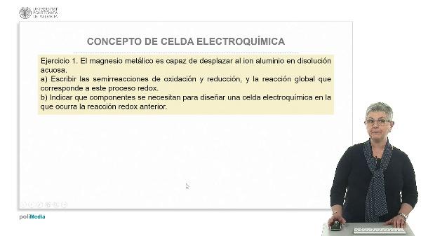 Concepto de celda electroquímica (ejercicios prácticos)