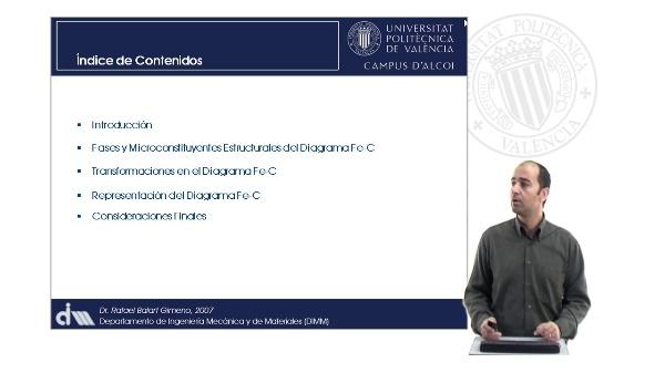 Diagramas de Aleaciones de Ingeniería. Diagrama hierrro-carbono