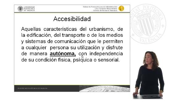 Presentación Unidad 4: Accesibilidad en el entorno físico
