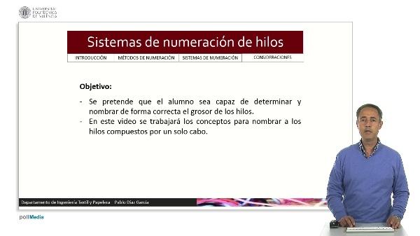 Sistemas de numeración de hilos