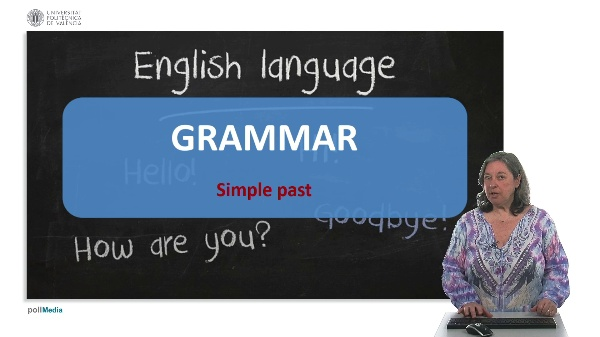 Course unit 2. Use of English. Simple past