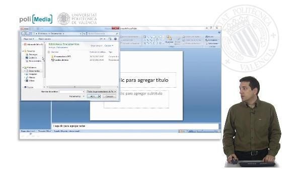 Diseño general de la presentación II