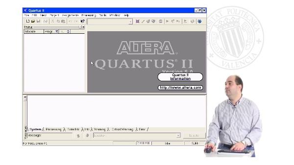 Uso de HDLs en Quartus II