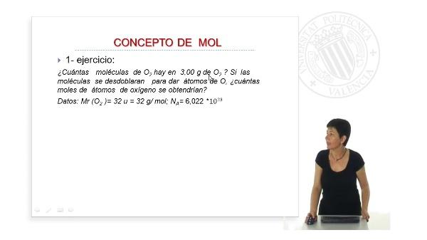 Concepto de Mol. (Ejercicios Prácticos)