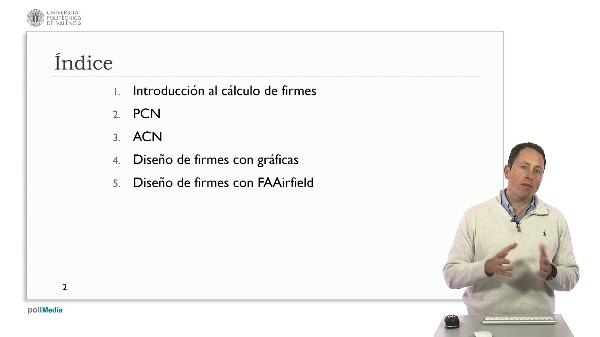 Diseño de aeropuertos según OACI. Índice módulo 5 Cálculo de firmes