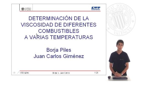 Praktikum 2010 - Determinación de la Viscosidad de Diferentes Combustibles a Varias Temperaturas Parte I