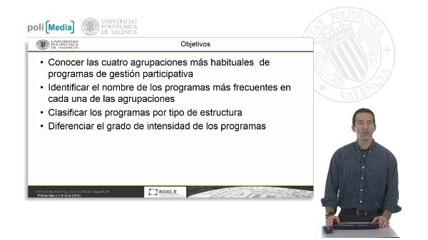 Programas de participación