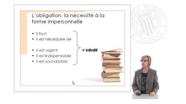 Expression de l'obligation