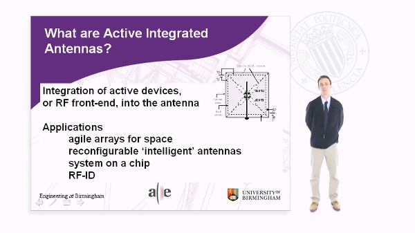 Active Integrated Antennas