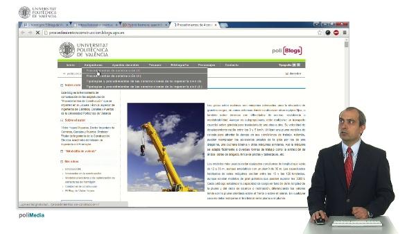 Presentación del blog de Procedimientos de Construccion