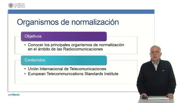 Organismos de normalización en radiocomunicaciones