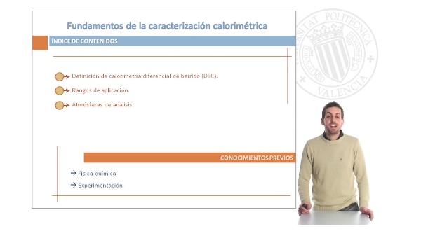 Fundamentos de la Caracterización Calorimétrica