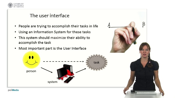Information Processing and User Interfaces: usability