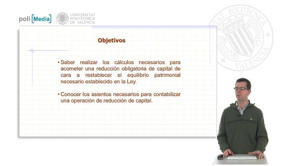 Las reducciones de capital. Caso práctico de registro contable de una reducción de capital para compensación de pérdidas
