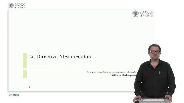La Directiva NIS: medidas