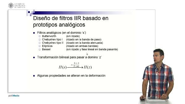 Filtros IIR basados en prototipos analógicos