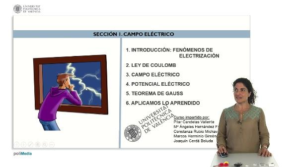 Seccion I. Campo electrico