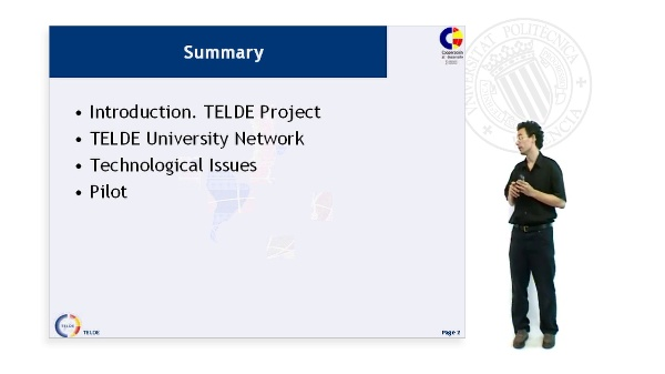 Technological challenges on Satellite.Virtual Classrooms: the TELDE Project