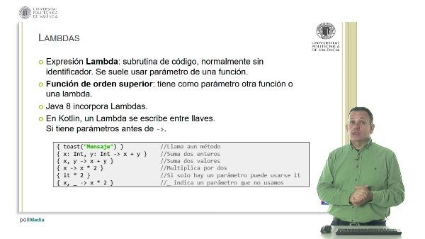 Lambdas y variables función en Kotlin