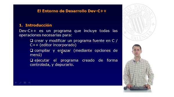 Introducción al entorno de desarrollo (IDE)