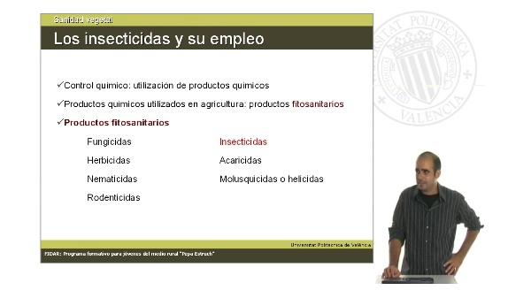 Unidad 2.2. Los insecticidas y su empleo