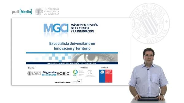 Presentación Especialista Universitario en Innovación y Territorio