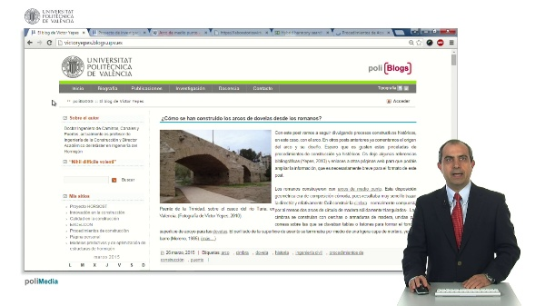 Presentación del blog de Victor Yepes