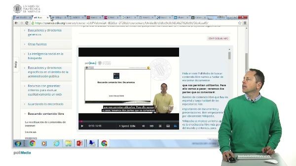 Buscar contenido libre en Internet. Documentos