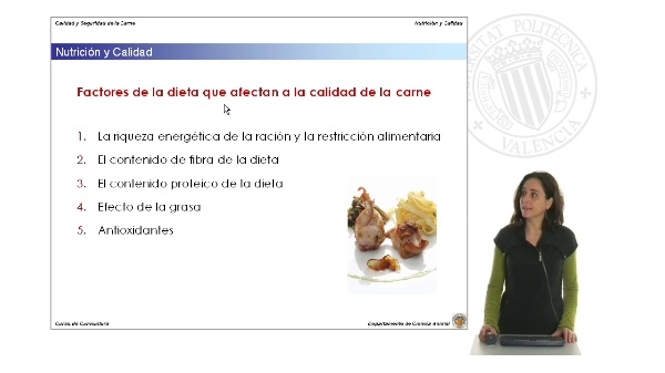 Efecto de la Nutrición sobre la Calidad de  la Carne de Conejo