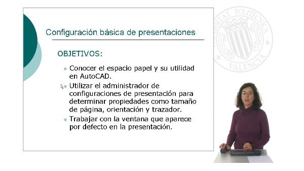 Configuración básica de presentaciones