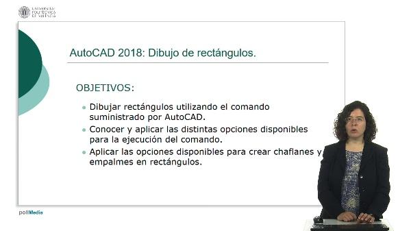 AutoCAD 2018: Dibujo de rectángulos