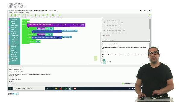 Ejemplo de programación: Midiendo la luz