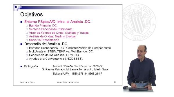 Prontuario de OrCAD. Pspice: Entorno y Análisis .DC (II)