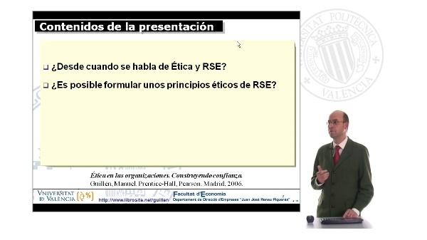 Ética empresarial y RSE