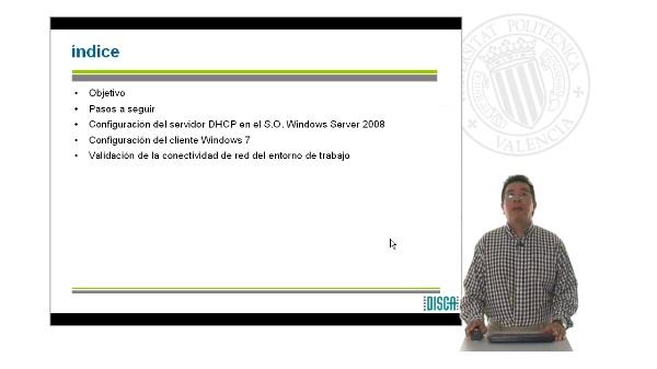Configuración de un servidor DHCP en WIndows Server 2008