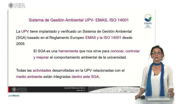 El sistema de gestión ambiental en la UPV