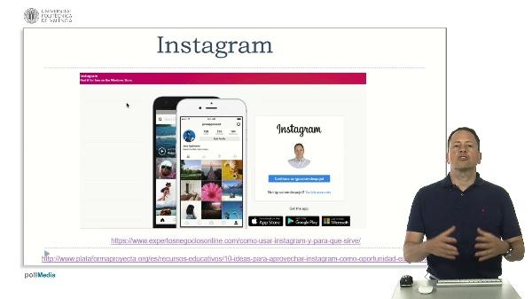Tecnologías para la educación. Otras redes sociales (Instagram, snapchat, pinterest, whastapp, periscope)