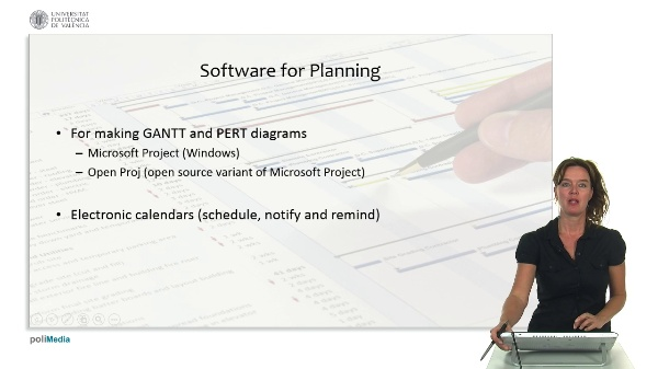 Standards and project management: software for project management