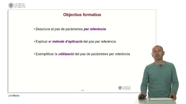 Llenguatge C: Funcions. Pas de paràmetres per referència