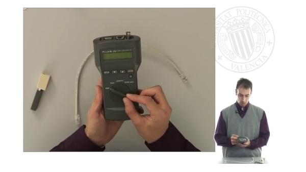 Crimpado de Cables de Par Trenzado: TEST