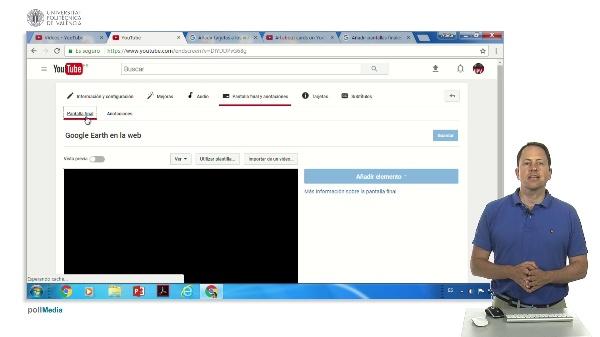 Youtube: Añadiendo pantallas finales y tarjetas de sobreimpresión