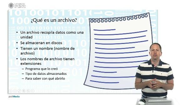 Archivos y tipos de archivos