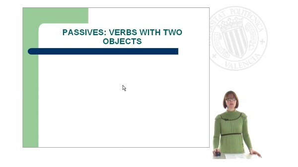 Passive Voice: Part II