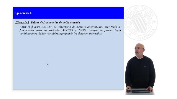 Practica 2. Statgraphics Ejercicio 1