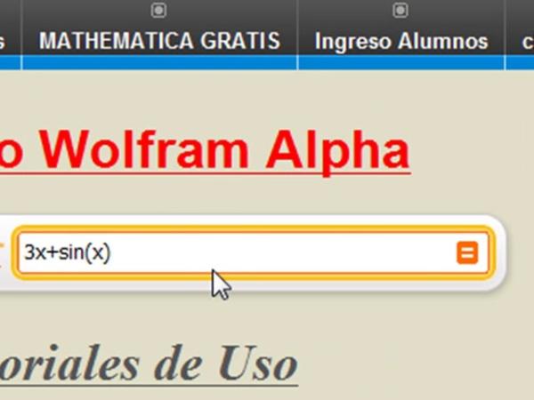 Programa Mathematica gratis y online