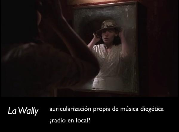 enamoramiento y La Wally en Carnivale